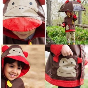 Skip Hop Other - MAKE OFFER! Skip Hop monkey raincoat