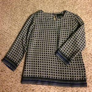 Patterned dress shirt - Cynthia Rowley