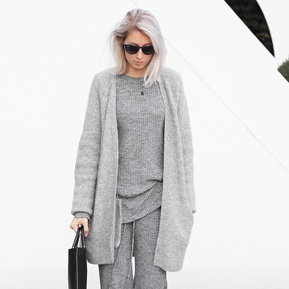 33% off Zara Sweaters - Zara Oversized Grey Cardigan. from ...