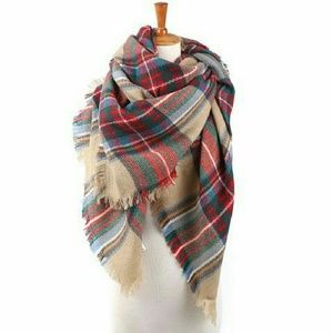 Accessories - Classic Tartan Plaid Big Blanket Scarf