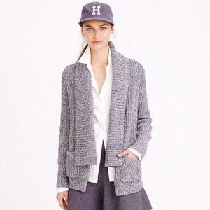 J.Crew marled sweater cardigan size large