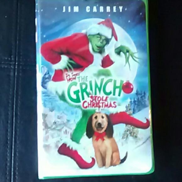 other dr sueuss how the grinch stole christmas vhs movie - How The Grinch Stole Christmas Vhs