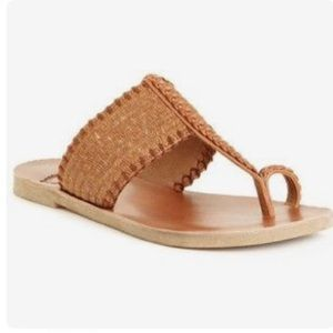 Lucky Brand Shoes - Harmony Sandals Raffia Toe Ring Lucky Brand