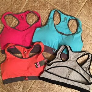 L.A. Gear Other - Bundle of 4 sports bras!!