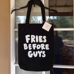 ban.do Handbags - Fries Before Guys Canvas Tote