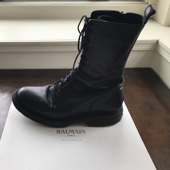 da057d08505 Balmain Shoes   Authentic Mens High Rangers Boots Sz 9   Poshmark