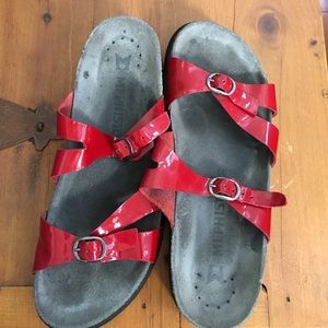 Mephisto Shoes - Mephisto Red Sandals