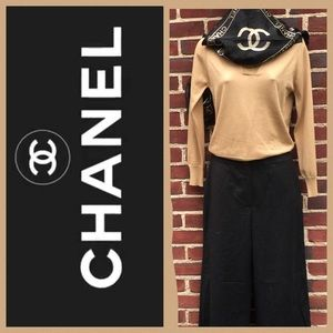 CHANEL Pants - 🎉🎉HP 2/22/17🎉🎉CHANEL Wide-Legged Charcoal- 2