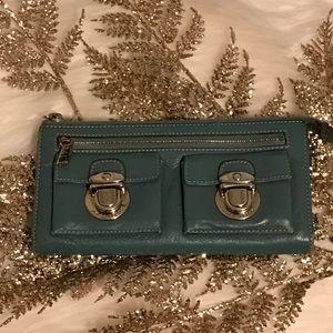 Marc Jacobs Handbags - Marc Jacobs zip clutch wallet denim