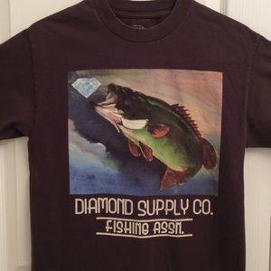 Grey Fishing T shirt