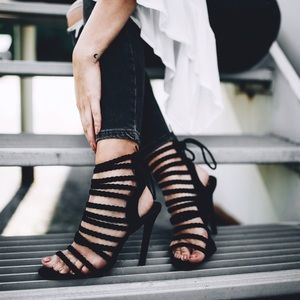 Windsor Braided Strappy Heels