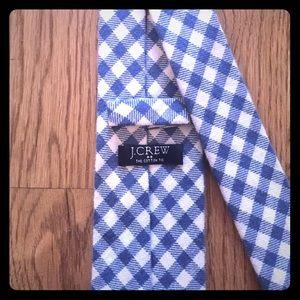 J. Crew cotton tie