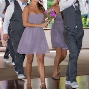 Donna Morgan Dresses & Skirts - DONNA MORGAN Beautiful Lavender Chiffon Dress!