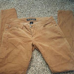 Tan Cord Pants