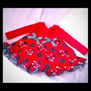 Rare Editions Other - 🐞Adorable Red & Black Lady Bug Dress•PRICE FIRM❗️
