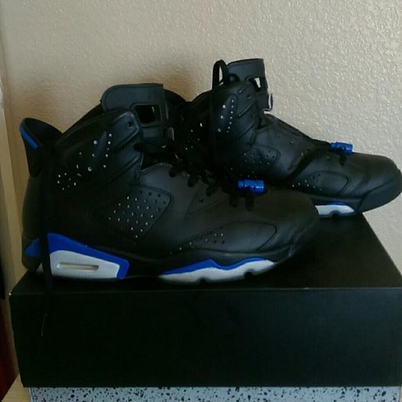 super popular da838 153f9 Jordan Shoes - Air Jordan 6  Sport Blue Custom