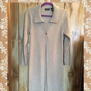 G.A.S. CO. Ribbed Long Sweater Size L