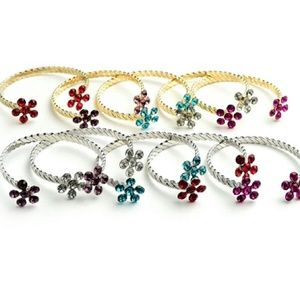 Jewelry | Gemstone Open Cuff Bangle Bracelets