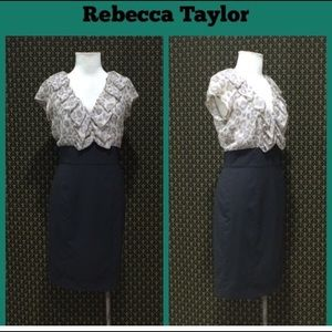 Rebecca Taylor Silk blouse dress