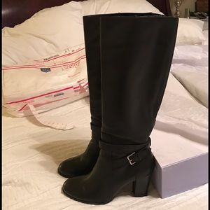 Marc Fisher Kessler Knee High Black Boot 8.5