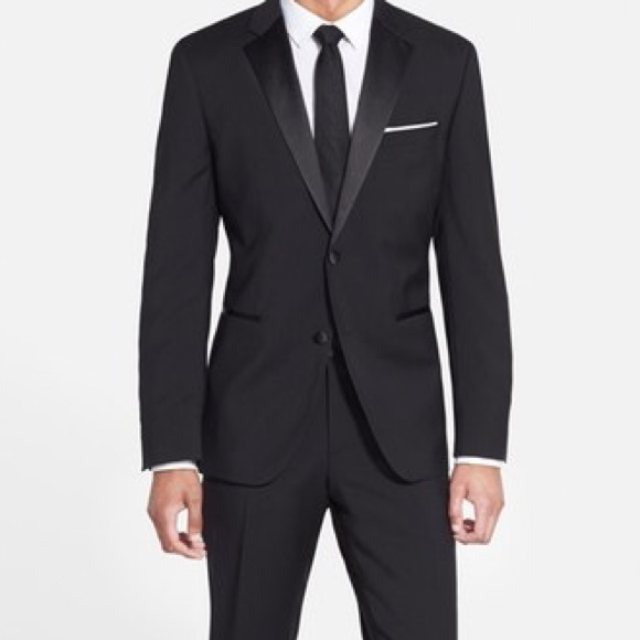 7d2476f2a Hugo Boss Suits & Blazers | The Starsglamour Trim Fit Wool Tux ...