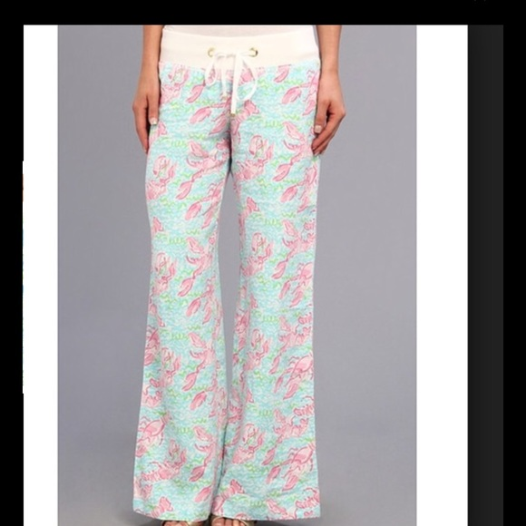 04d2599d487b50 Lilly Pulitzer Pants - Lilly Pulitzer Lobster Roll Beach Pant