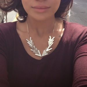 """Jewelmint """"Gilded Points"""" necklace in gold"""