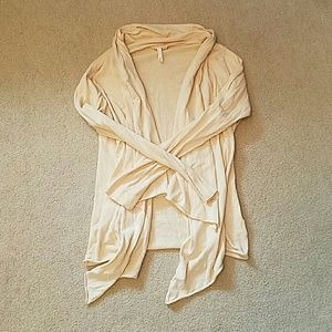 Price firm Cream open cardigan sz medium