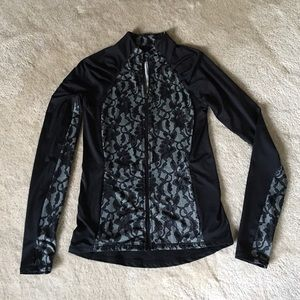 Workout jacket by Cynthia Rowley.