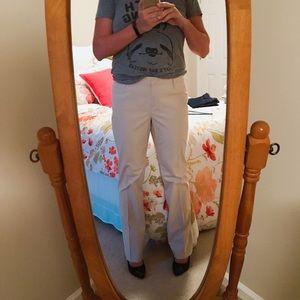 LOFT Pants - Loft 'Marisa' Khaki Straight Leg Pants