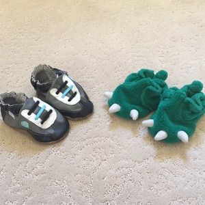 Robeez Other - Robeez Soft Sole Shoes And Carters Slippers