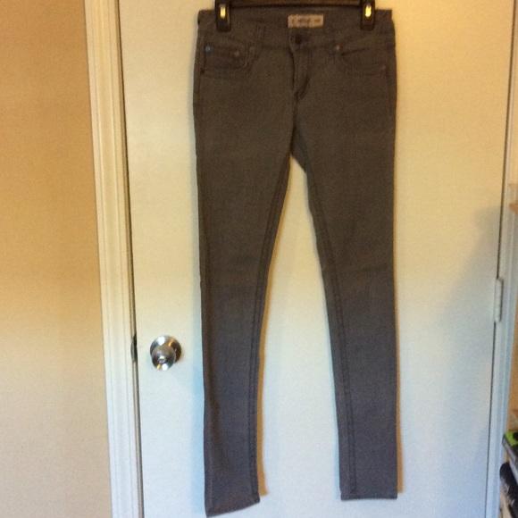 just usa yara clean skinny crop jean womens