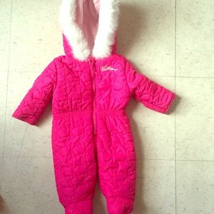 Weatherproof Other - Winter snow suit for baby girl