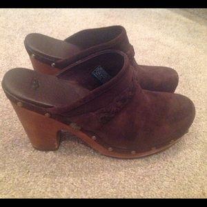 UGG Shoes - UGG Suede Clogs
