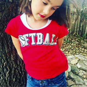 Justice Other - •Justice Softball Top•