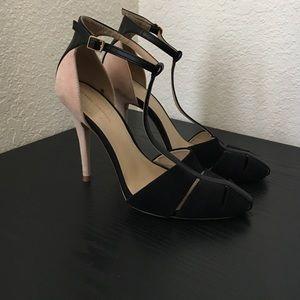 Zara T-Strap Heels