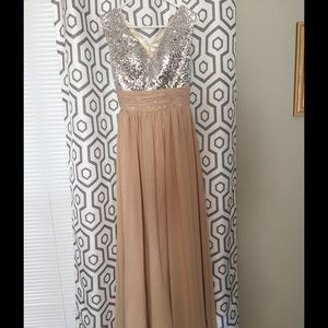 Dresses & Skirts - Neutral Bridesmaid or Prom Dress