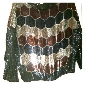 Tops - Gorgeous vintage Sequined Top