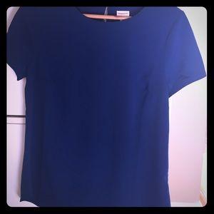 Merona short sleeve silk tee (size medium)