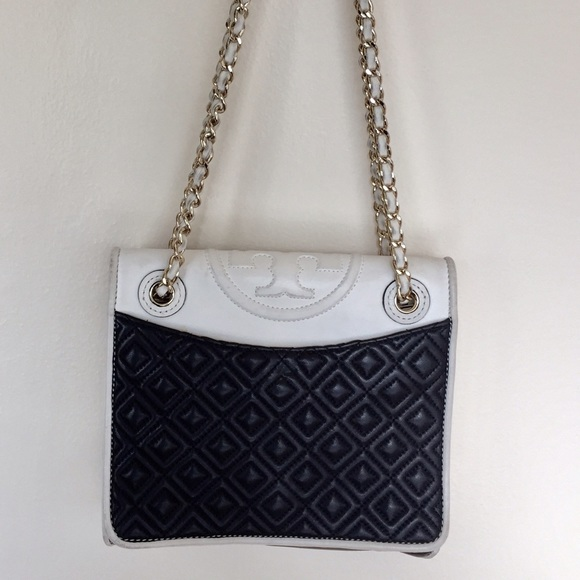 Tory Burch Bags Fleming Quilted Chain Bag Poshmark