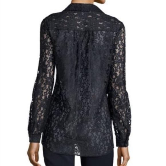 07af5f592054a Diane von Furstenberg Tops   Hp 11 Dvf Black Lace Lorelei Two   Poshmark