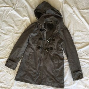 Guess Duffel Jacket with Patent Toggles