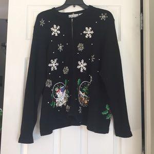 Sweaters - Tacky Snow Globe Christmas Sweater