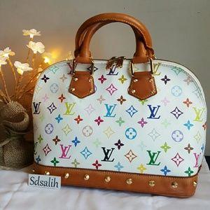 Louis Vuitton Handbags - Authentic Louis Vuitton Multicolor Alma