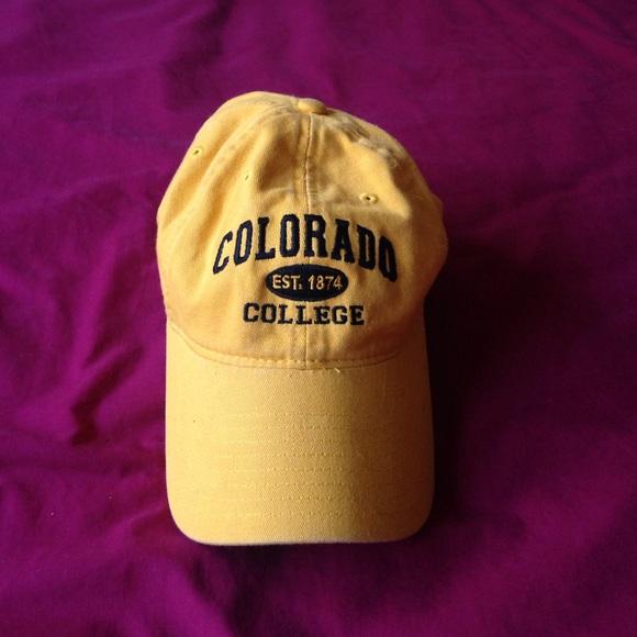 Colorado college hat