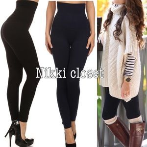 Boutique Pants - High waist compression leggings sexy comfy new OS