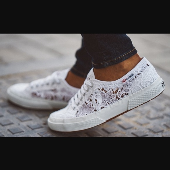 Alta qualit Sneakers Macrameme Superga vendita