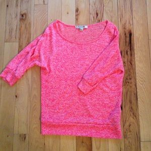 Forever 21 3/4 length knitted top