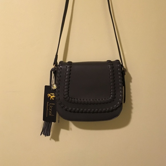 d74850ac553d lionel Handbags - Lionel handbags Grey saddle bag