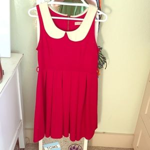 Red vintage styled dress
